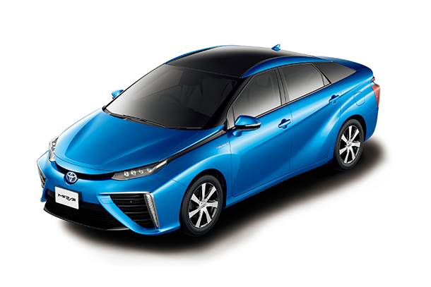 Toyota Ushers in the Future with Launch of 'Mirai' Fuel Cell Sedan