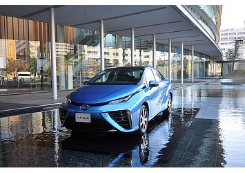 Launch of Mirai fuel cell sedan