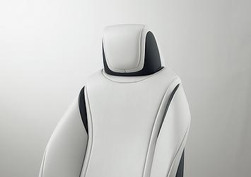 Toyota Mirai fuel cell sedan seat (Warm White)