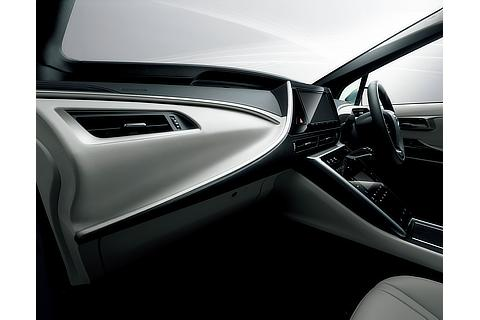 Toyota Mirai fuel cell sedan interior