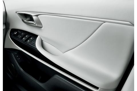Toyota Mirai fuel cell sedan interior