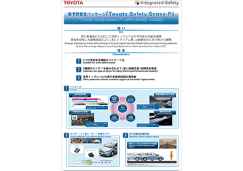 """Toyota Safety Sense P"" Active Safety Package"