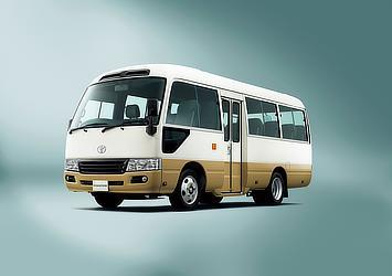 LX(標準ボディ・ハイルーフ・26人乗り・6AT・ディーゼル車)(ホワイト/ベージュ)<オプション装着車>