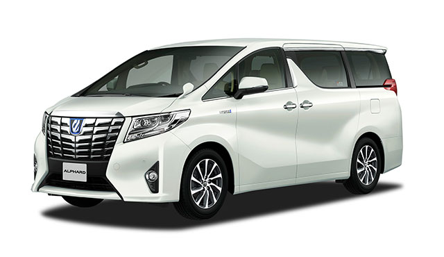 "Alphard G ""F Package""(Hybrid model with options)"