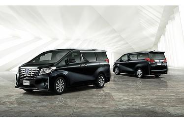 "Toyota Alphard and Vellfire 30 Series Alphard ""Executive Lounge"" model (hybrid; black)"