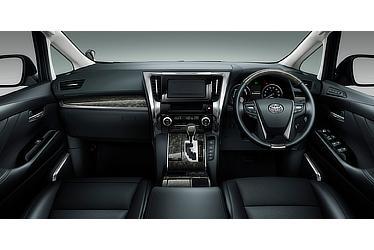 "Vellfire ZR ""G Edition"" (hybrid; black interior; options shown)"