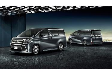 "Toyota Alphard and Vellfire 30 Series Vellfire Z ""G Edition"" (2WD; grey metallic)"