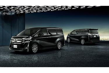 Toyota Alphard and Vellfire 30 Series Vellfire VL (2WD; black)