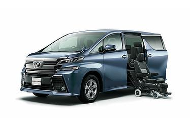 Toyota Alphard and Vellfire 30 Series Vellfire Z Welcab side lift-up seat model (2WD)