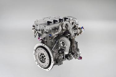 1.6-liter direct-injection turbo Global Race Engine