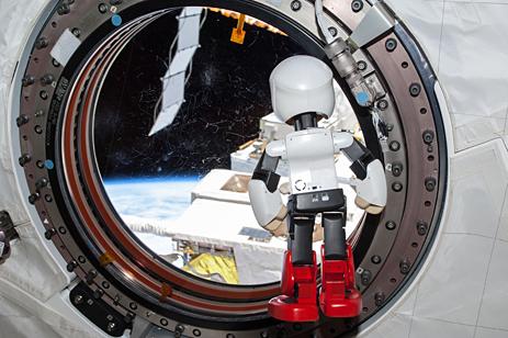 ISS離脱前のKIROBO