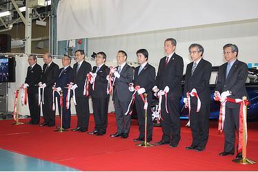 MIRAI ラインオフ式典(2月24日)