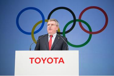 IOCバッハ会長
