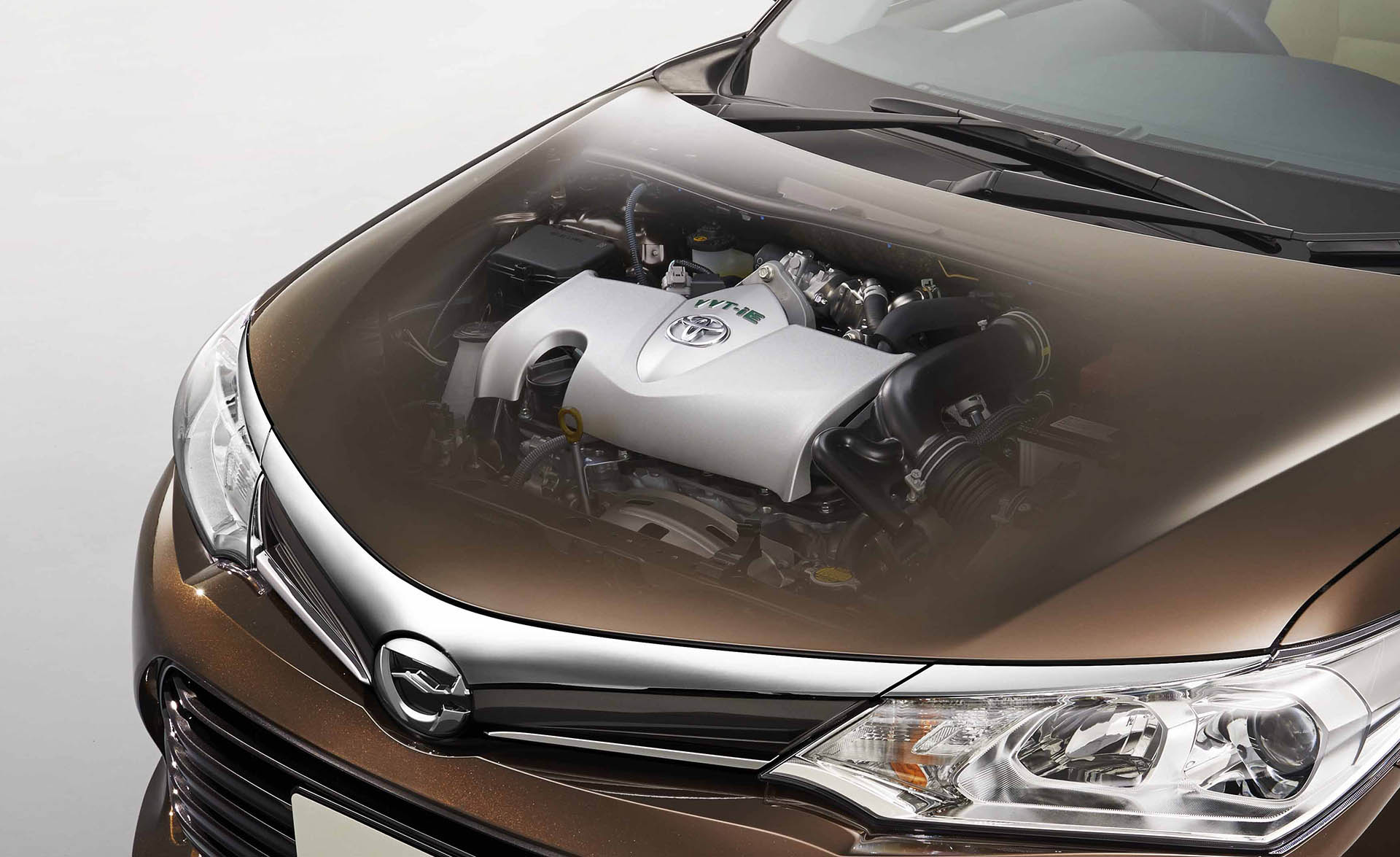 1.5-liter 2NR-FKE engine on board the Corolla Axio