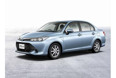 Corolla Axio Hybrid G(Light Blue Metallic; options shown)