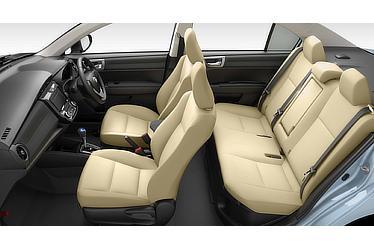 Corolla Axio Hybrid G(Black interior with Flaxen seats; options shown)
