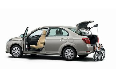 Corolla Axio Hybrid G(Mellow Silver Metallic)2WD Welcab model with rotating and sliding passenger seat