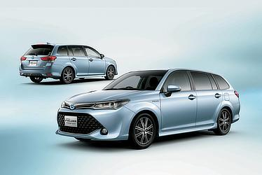 Corolla Fielder Hybrid G Aerotourer(Light Blue Metallic; options shown)