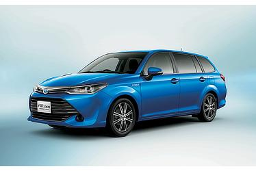 Corolla Fielder Hybrid G(Blue Metallic; options shown)