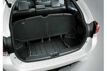 Corolla Fielder multilevel storage space
