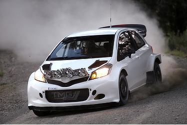 Yaris WRC test car