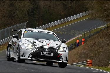 Lexus RC at Nürburgring