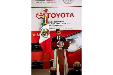メキシコでの記者会見(メキシコ合衆国ペニャニエト大統領)