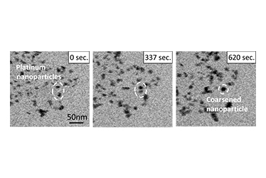 The coarsening of platinum nanoparticles