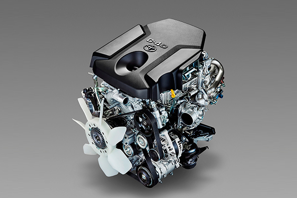 Toyota's Revamped Turbo Diesel Engines Offer More Torque, Greater Efficiency and Lower Emissions