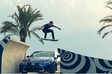 Lexus Hoverboard and GS F