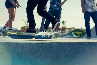 Lexus Hoverboard in action