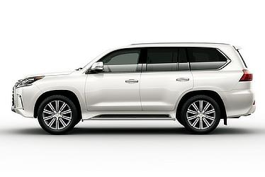LX 570 (White Pearl Crystal Shine; Options Shown)