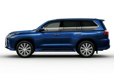 LX 570 (Deep Blue Mica; options shown)