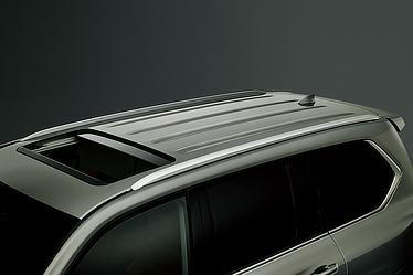 Aluminum roof rail