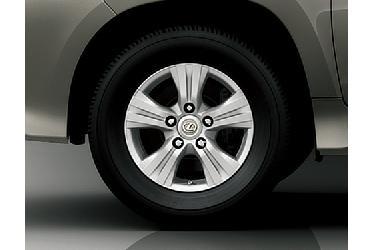 285/60R18 Tire and aluminum wheel