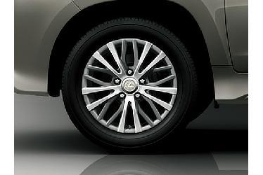 285/50R20 Tire and aluminum wheel