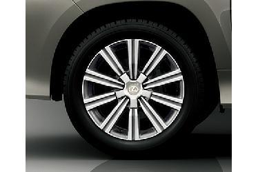 275/50R21 Tire and aluminum wheel