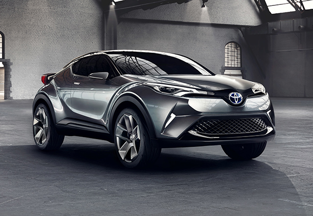 Toyota C-HR Concept (five-door model)