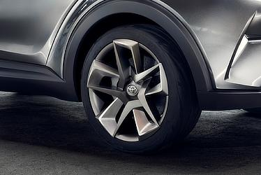TOYOTA C-HR Concept (Wheel)