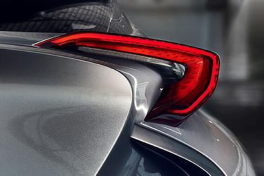 TOYOTA C-HR Concept (Rear light cluster)