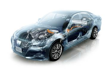 車両透視図