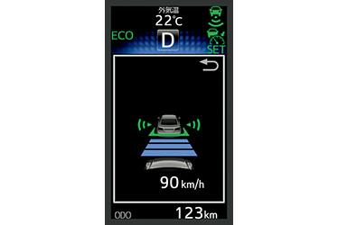 ITS Connect 車車間通信システム (通信利用型レーダークルーズコントロール)