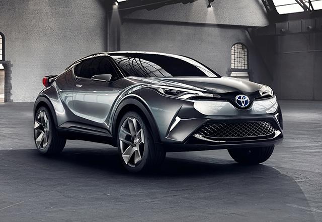 Toyota C-HR Concept (five-door model)
