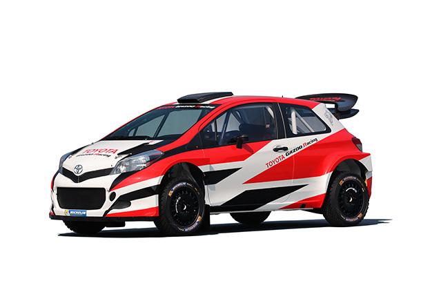 YARIS WRC テストカー