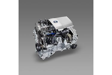 1.8L 2ZR-FXEエンジン カットモデル