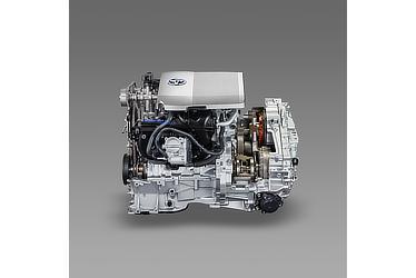 エンジン・トランスアクスル カットモデル