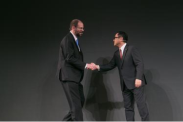 Executive Technical Advisor ギル・プラット/取締役社長 豊田章男