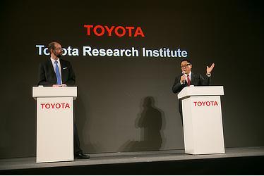 Executive Technical Advisor Gill A. Pratt / President Akio Toyoda