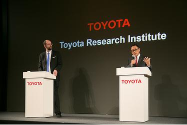 Executive Technical Advisor Gill A. Pratt / President Akio Toyoda