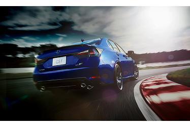 GS F (ヒートブルーコントラストレイヤリング) 〈オプション装着車〉